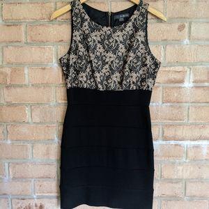 Forever21 Black & Tan Dress